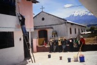 Minga (travail collectif), Andes -