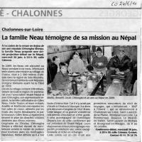 Courrier  l'Ouest 24/06/10, Andes - Asie