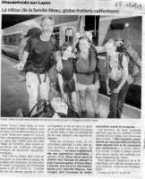 Ouest France 17/08/09, Andes - Asie