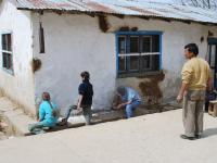 peinture exterieure , Andes - news 13  Nepal invisible