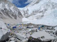 les expeditions s'installent, Andes - News  17  Nepal  invisible
