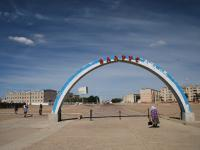 Bienvenue a Chobalsan's city , Andes - news 26 Mongolie invisible