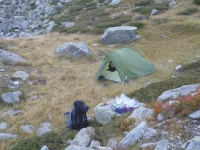 Bivouac Lac Pierrefonds, Andes - News 154 28/10/19 invisible
